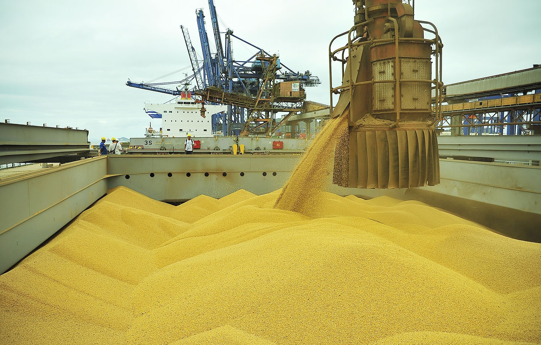 Exportação de soja do Brasil atinge recorde de 16,3 milhões de toneladas em abril, diz governo
