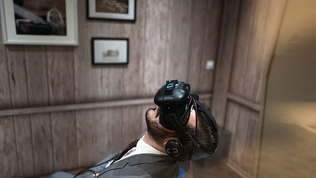 Impressões de Davos  - realidade virtual - óculos - futuro - realidade - visão (Foto: World Economic Forum / Pierre Abensur)