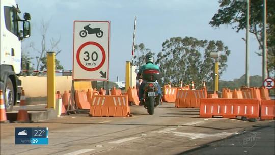 Tarifa de pedágio é reduzida em 4 praças na região de Ribeirão Preto; motociclistas passam a pagar