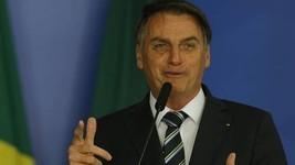 Bolsonaro revela mensagem ao presidente Biden (Jorge William / Agência O Globo)