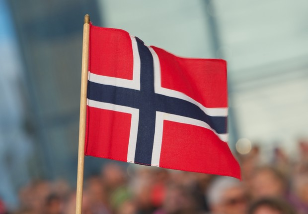 Bandeira da Noruega (Foto: Ragnar Singsaas/Getty Images)