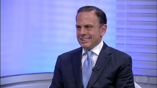 Doria diz que PSDB precisa fazer 'avaliação' e que se bandido reagir 'vai para o chão'