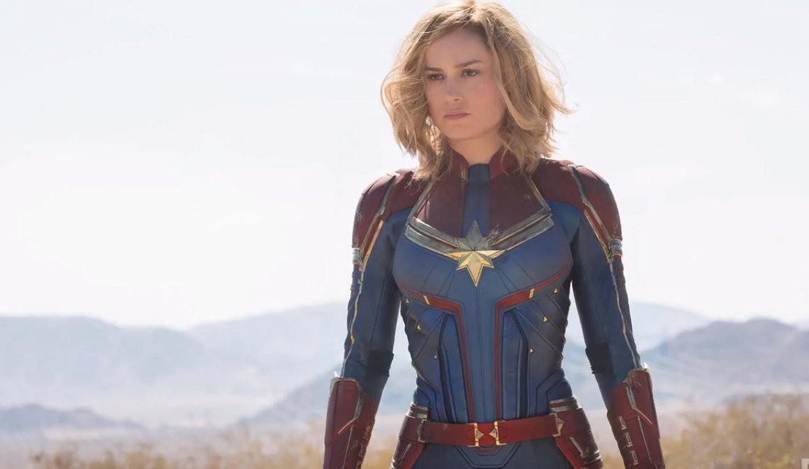 Brie Larson como a Capitã Marvel (Foto: Reprodução/EW)