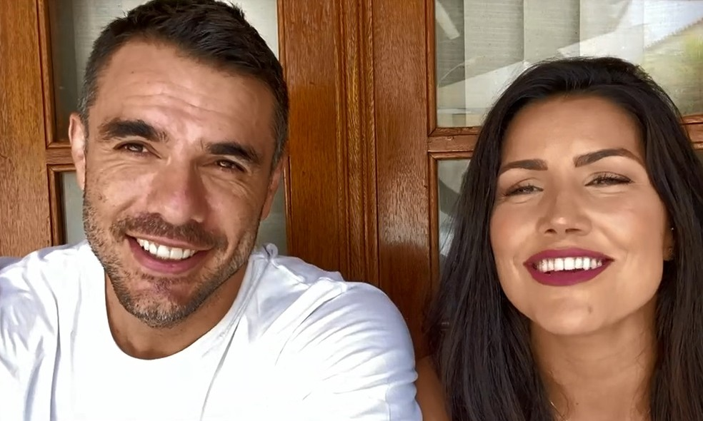 Daniel Saullo e Mariana Felício se envolveram durante o 'BBB6' — Foto: Globo