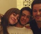 Antonio tem 22 anos. Alessandra e Murilo começaram a namorar em 1996 nos bastidores da novela 'Meu bem querer' e ficaram juntos até 1999 | Reprodução Instagram