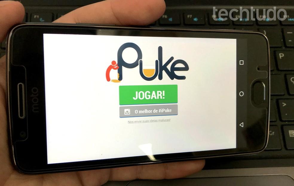 iPuke tem drinking games para beber com os amigos — Foto: Rodrigo Fernandes/TechTudo