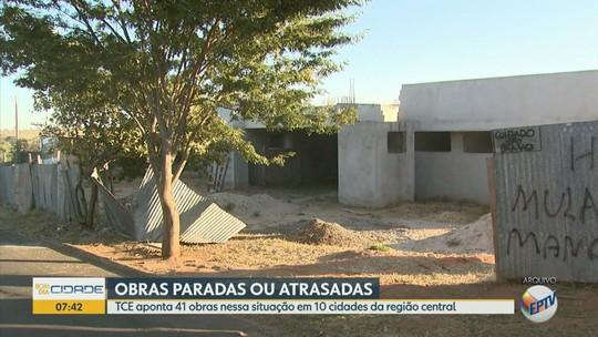 113 obras públicas estão paradas em 32 cidades da região somando R$ 223,8 milhões, diz TCE-SP