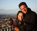 Juliana Baroni e o marido, Eduardo Moreira | Arquivo pessoal