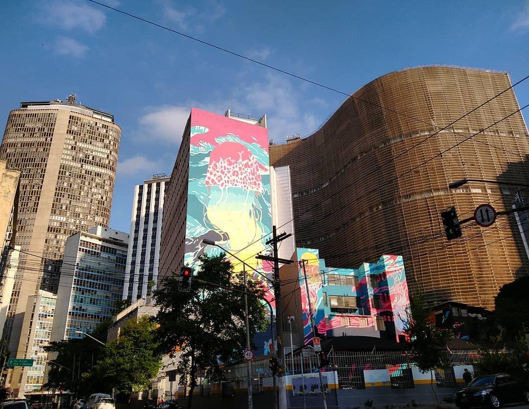 Justiça de SP decreta apagamento de grafite em maior intervenção urbana do mundo (Foto: Divulgação)