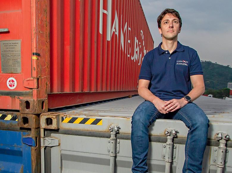 Marcus Voloch, diretor executivo da Aliança Navegação e Logística (Foto: Rogerio Albuquerque)
