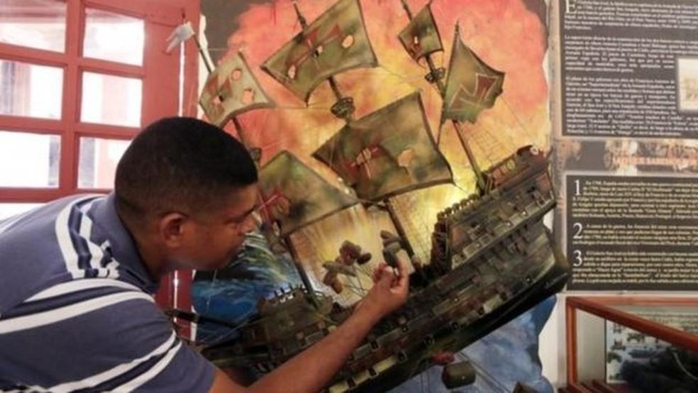 Caçar tesouros em navios afundados é um grande negócio para países (Foto: EPA)