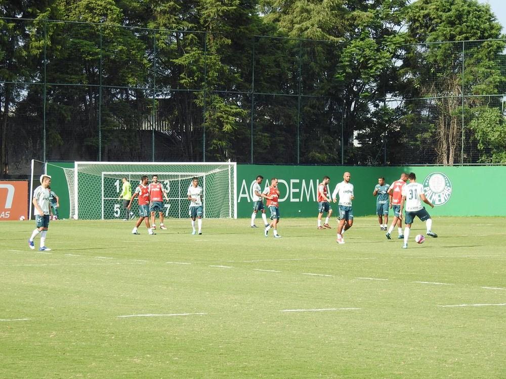 Veja a escalação do Palmeiras para o jogo contra o Santo André