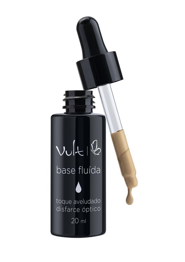 Base fluida da vult: novidade para as amantes de pele leve e matte  (Foto: Divulgação)