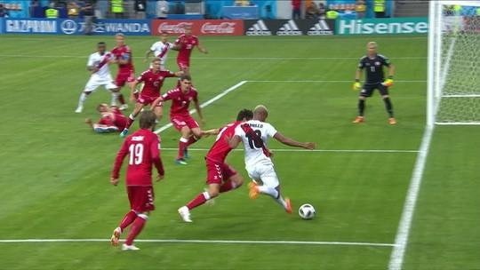 """Para """"segunda final"""" na Copa, estrela da Dinamarca promete bom futebol: """"Devemos isso"""""""