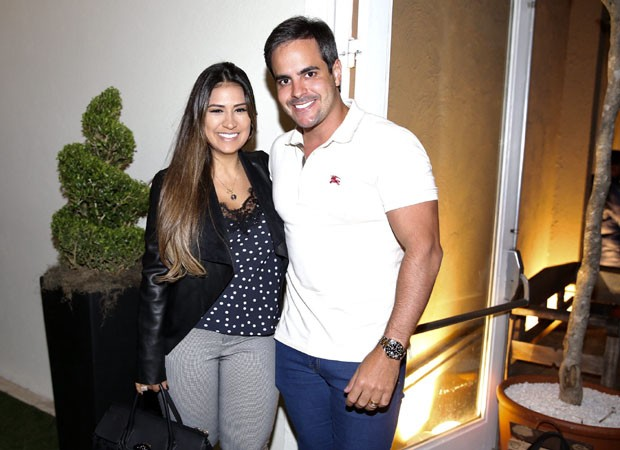 Simone e o marido, Kaká Diniz  (Foto: Manuela Scarpa/Brazil News)