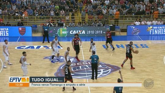 Sem euforia, Franca busca vitória no jogo 3 para evitar pressão extra no Rio de Janeiro