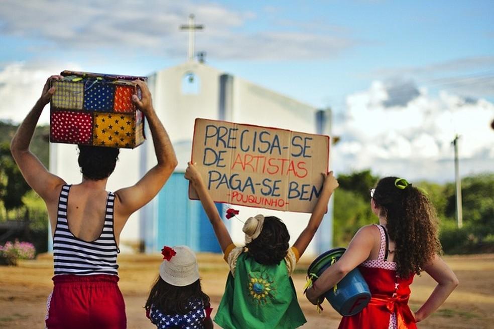 Festival 'Chama Violeta no Sertão' — Foto: Divulgação