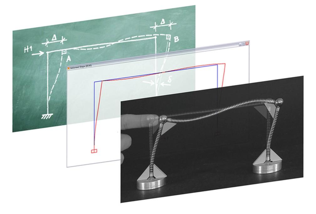 Do abstrato ao concreto: o Kit Estrutural Mola já é usado por mais de 300 universidades para ensinar conceitos de engenharia e arquitetura — Foto: Divulgação/Márcio Sequeira