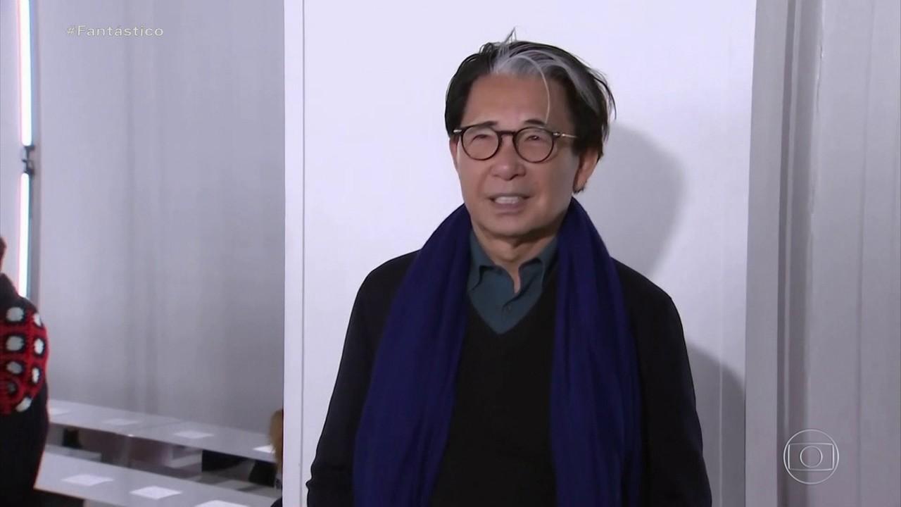 Estilista japonês Kenzo Takada morre aos 81 anos vítima da Covid