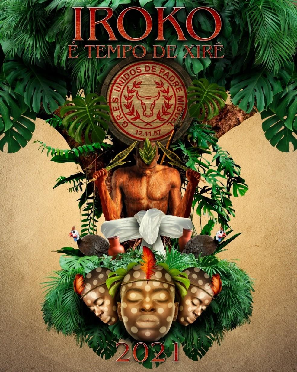 Live da Unidos de Padre Miguel dá início ao concurso de sambas-enredo virtual para o carnaval de 2021