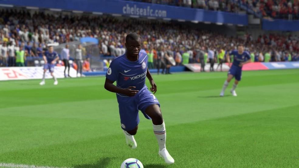 Kanté é considerado o volante de maior destaque do FIFA 20 — Foto: Reprodução/EA Sports