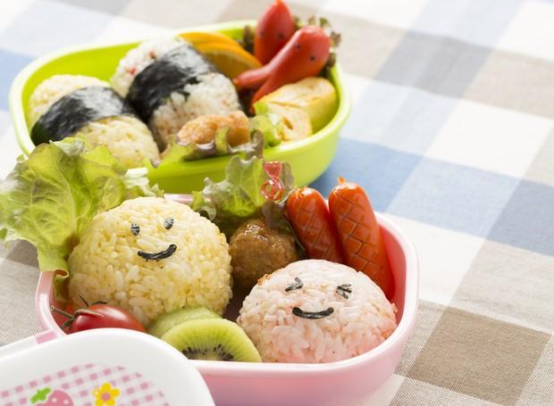Bentô: a forma de fazer marmita no Japão (Foto: Thinkstock)