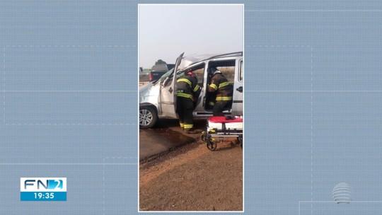 Acidente de trânsito deixa criança ferida na Rodovia Assis Chateaubriand