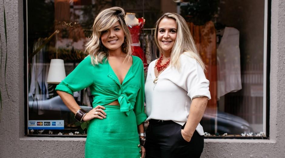Danielle Kono e Siomara Leite, donas do Brechó Agora é Meu (Foto: Divulgação)