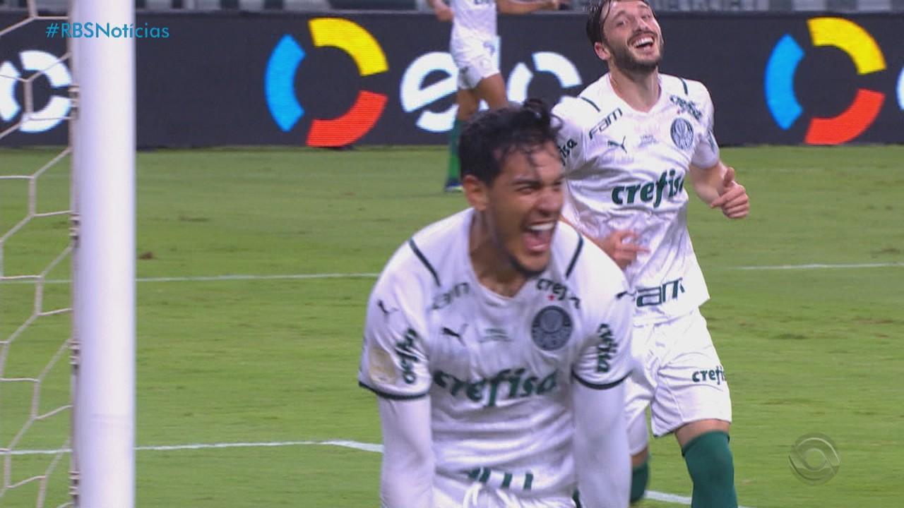 Palmeiras vence Grêmio na Arena e leva vantagem para São Paulo na final da Copa do Brasil