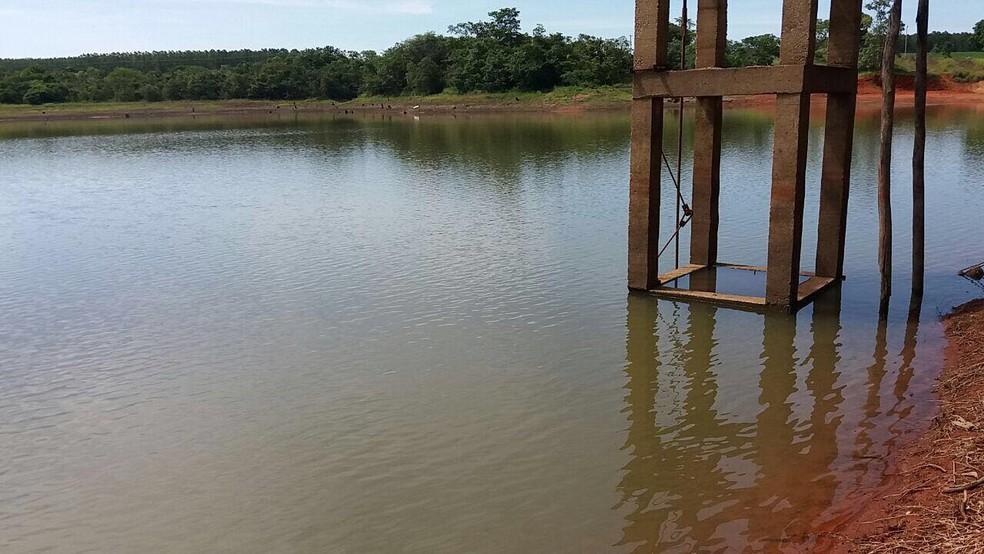-  Sargento se afogou na represa Boa Sorte, em Paracatu na tarde desta quarta-feira  14   Foto: G1