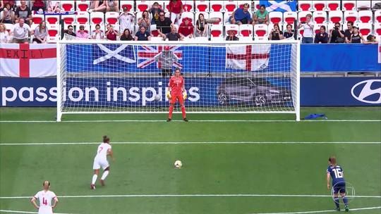 Jogo entre Inglaterra e Escócia pela Copa do Mundo Feminina bate recorde no Reino Unido