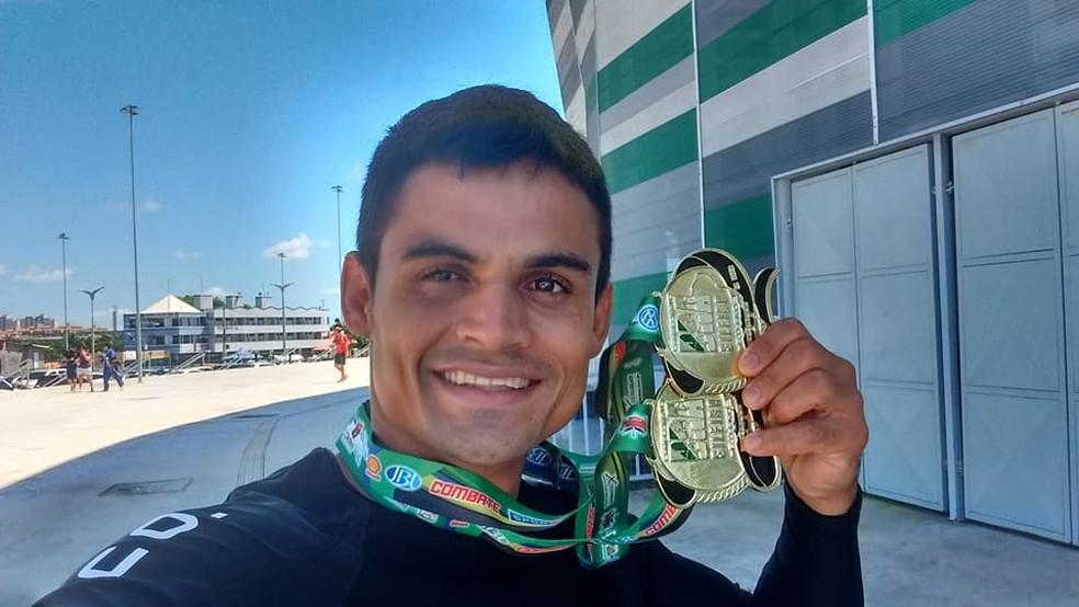 Lutador de jiu-jitsu é assassinado e autor segue foragido no Maranhão. Tiago Guma (Foto: Arquivo Pessoal)