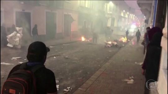 Em reação a protestos, Lenín Moreno transfere sede do governo equatoriano de Quito a Guayaquil