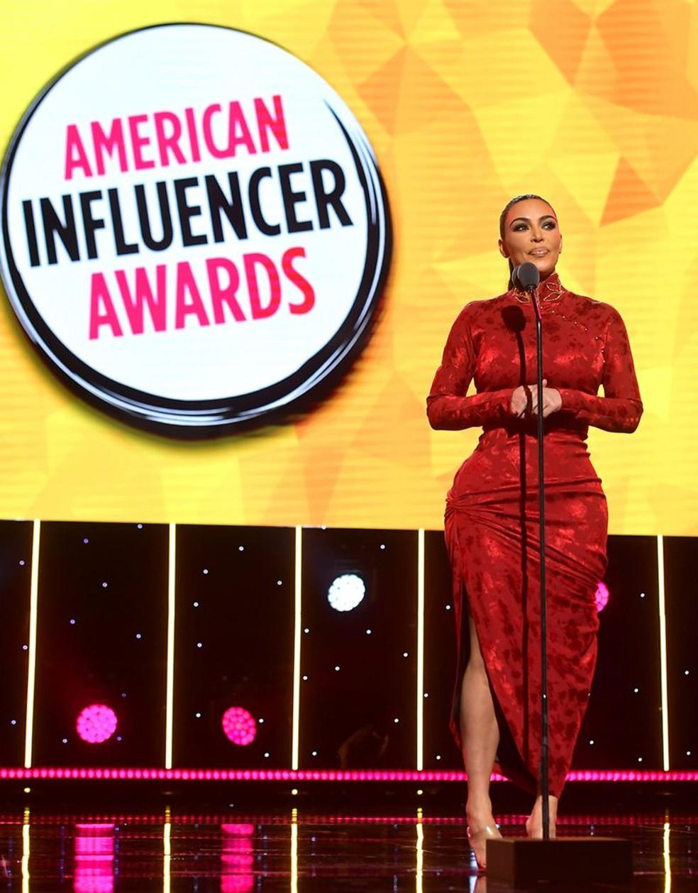 A popularidade de algumas das celebridades mais famosas, como Kim Kardashian, é exagerada pela equação do influenciador, diz Sumpter — Foto: GETTY IMAGES via BBC Brasil
