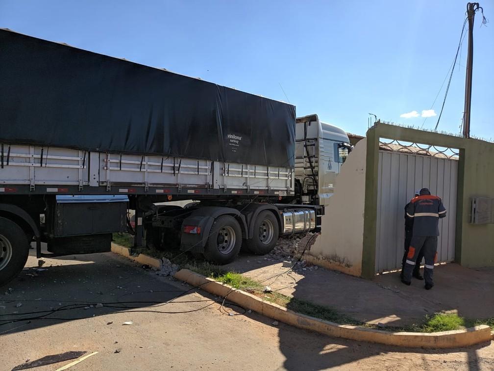 Ninguém ficou ferido — Foto: Blog do Braga