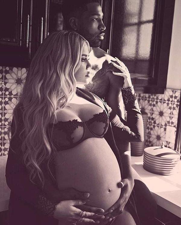Khloé Kardashian grivadíssima e Tristan Taylor  (Foto: Reprodução/Instagram)