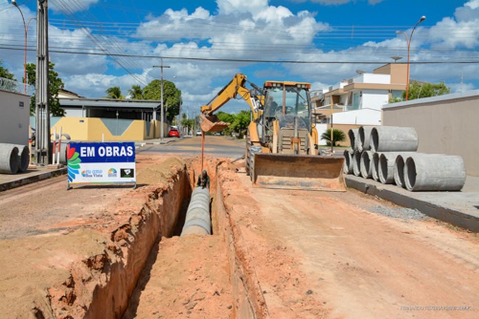 As obras de drenagem eliminaram mais de 40 pontos críticos de alagamento em Boa Vista. — Foto: PMBV.