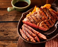 Receitas de carne, peixe, frango, porco, frutos do mar e vegetarianas