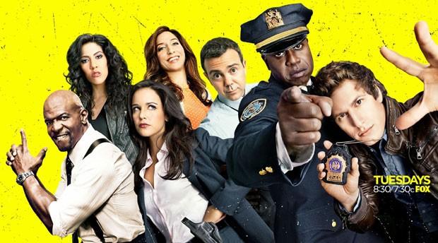O elenco de Brooklyn Nine Nine (Foto: Divulgação)