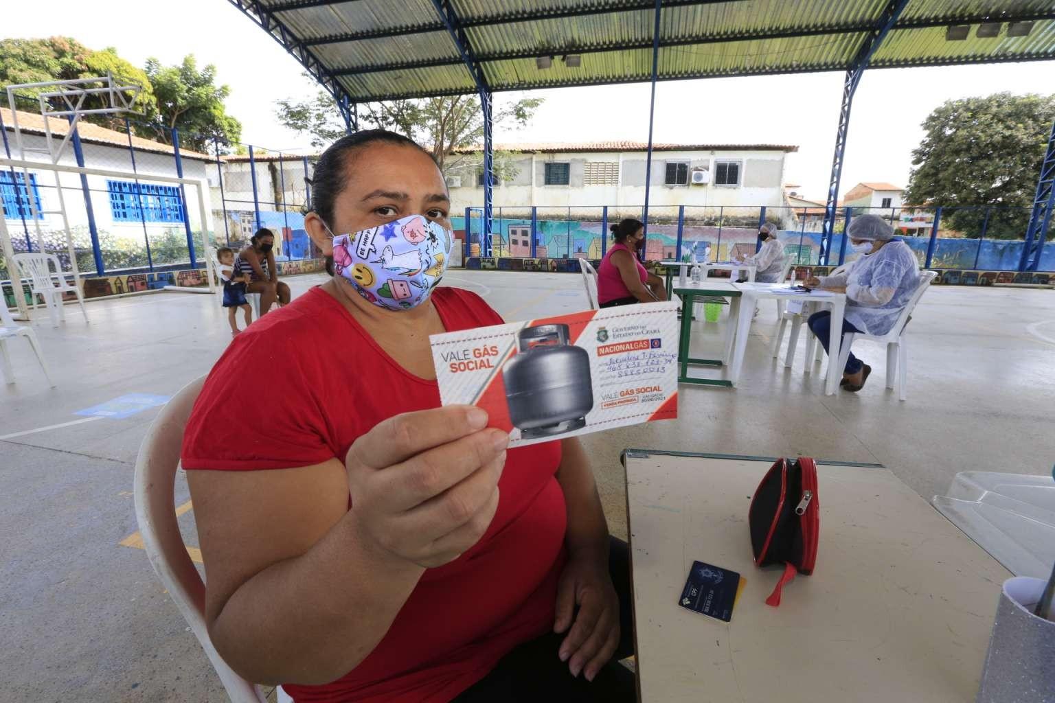 Segundo lote do vale gás começa a ser distribuído em Fortaleza a partir de segunda-feira (17)