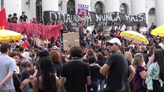 Aniversário de 55 anos do golpe militar é marcado por manifestações em várias capitais