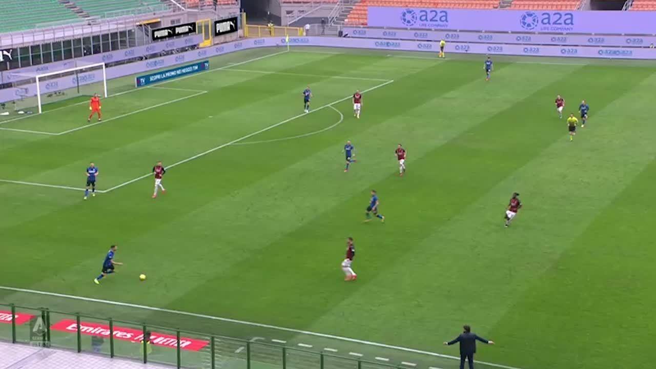 Melhores momentos: Milan 0 x 3 Inter de Milão, pelo Campeonato Italiano