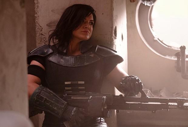 A atriz Gina Carano como Kara Doon (Foto: Divulgação/Disney)