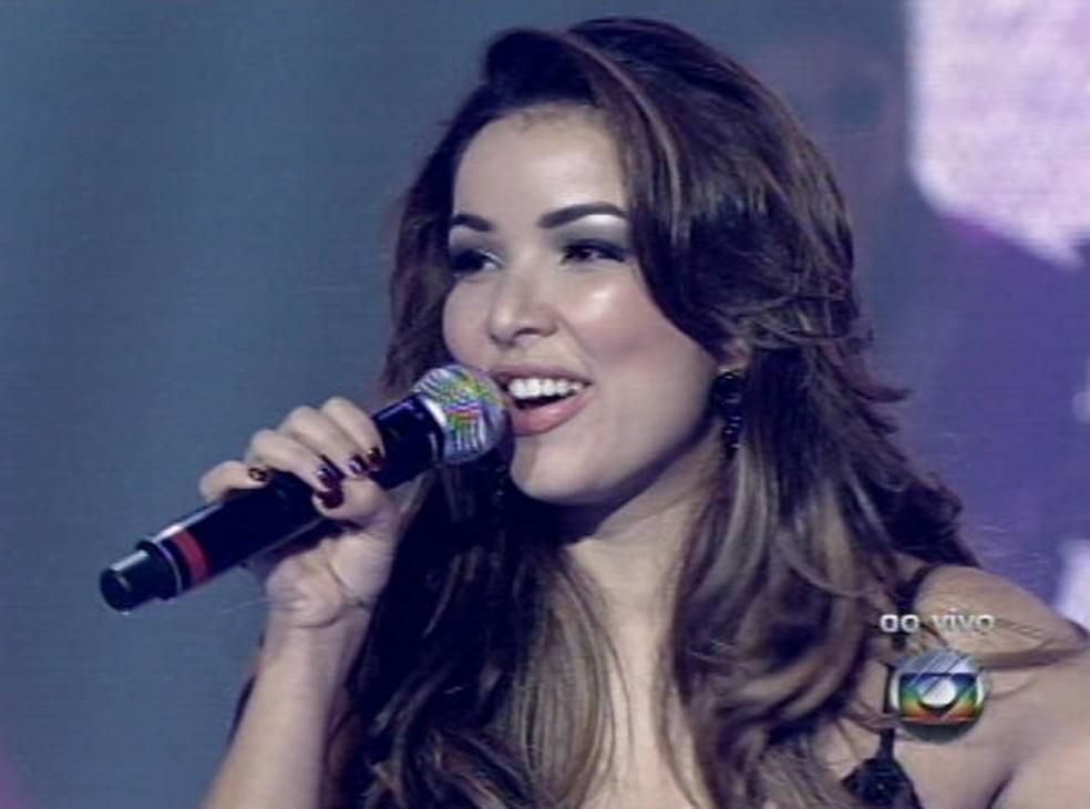 -  Liah Soares The Voice Brasil Paraense  Foto: Reprodução/TV Liberal