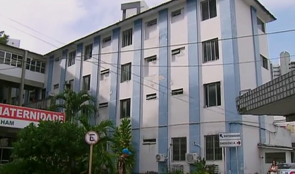 Hospital Agamenon Magalhães fica na Zona Norte do Recife (Foto: Reprodução/TV Globo)