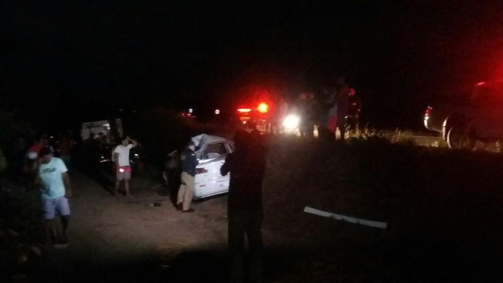 Acidente aconteceu na BR-101 Norte, na Grande Natal (Foto: Sérgio Henrique Santos/Inter TV Cabugi)