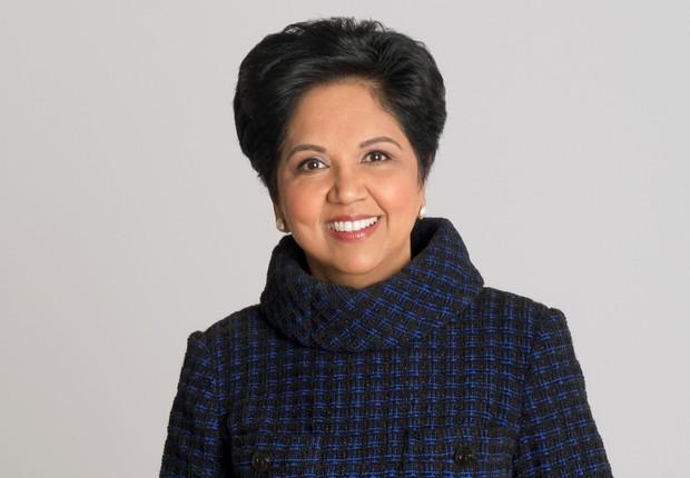 Indra Nooyi, CEO da PepsiCo até 3 de outubro, sairá da empresa após 12 anos na liderança executiva (Foto: Divulgação)