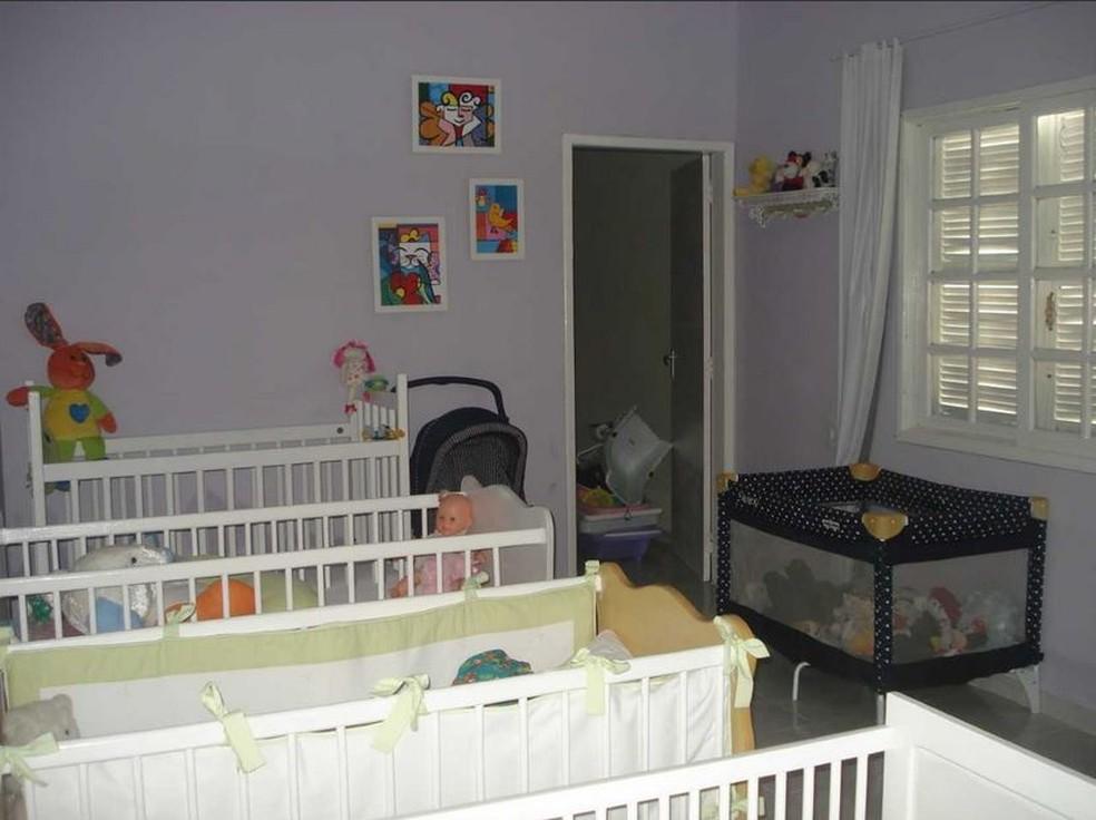 Casa Lar recebeu os primeiros três bebês em 2011 (Foto: Maurício dos Santos/Arquivo Pessoal)