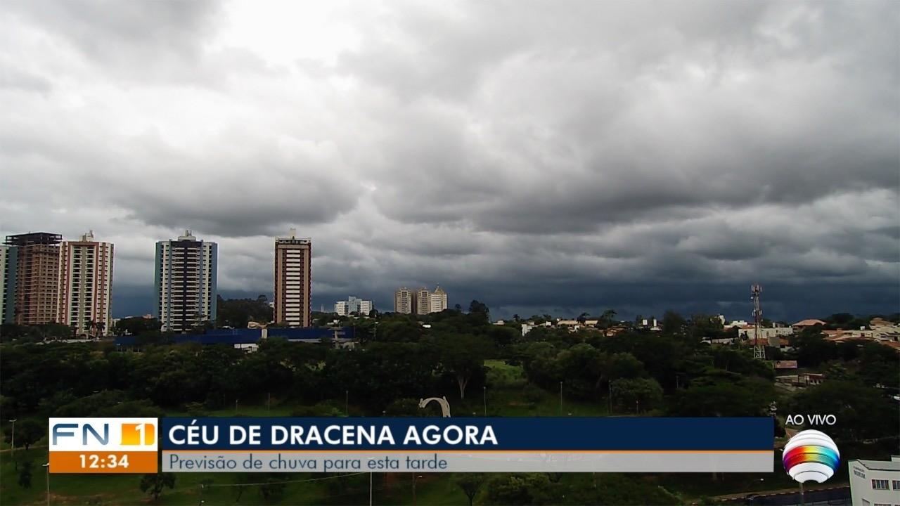 Meteorologia prevê chuva na tarde desta quinta-feira no Oeste Paulista