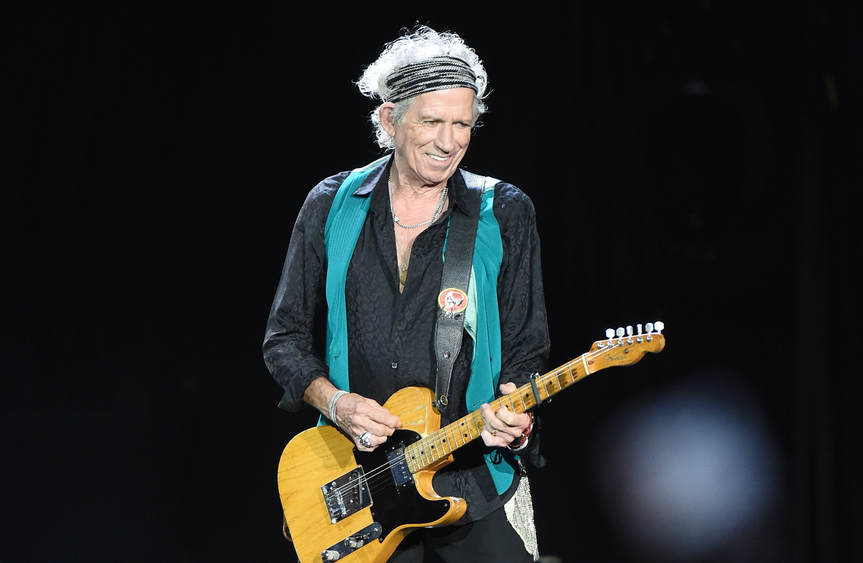 Keith Richards, dos Rolling Stones (Foto: Getty Images)